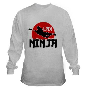 Lacrosse Ninja Long Sleeve T-Shirt> Lacrosse LAX Ninja> Game Face Gear