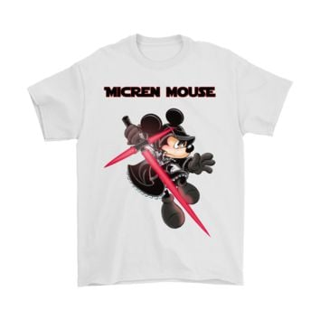 PEAPINY Mickey Micren Mouse - Kylo Ren Star Wars Shirts