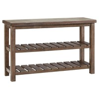 Signature Design by Ashley Vennilux Sofa Table - Grayish Brown