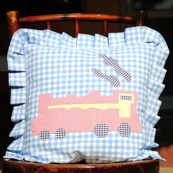 The locomotive pillow case for kids