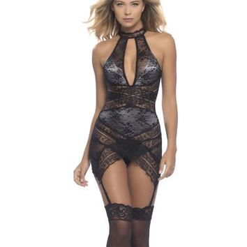 Jeanette lace chemise