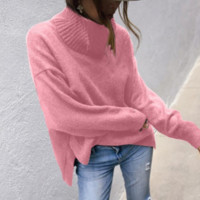 Lazy loose wild pullover sweater sweater