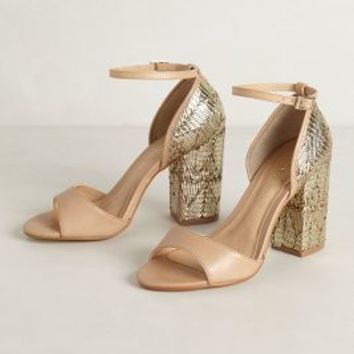Zari Pumps by Raphaella Booz Gold