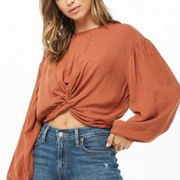 Twist-Hem Top