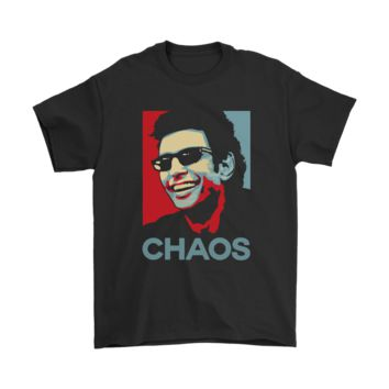 HCXX Ian Malcolm Chaos Hope Poster Jurassic Park Shirt