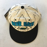 RETRO TAMPA BAY DEVILS RAYS STARTER ADJUSTABLE SNAPBACK HAT SHIPPING