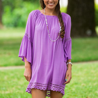 Bell of The Ball Dress-Lavender
