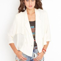 Cropped Trench Jacket - NASTY GAL