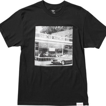 Diamond Hardware Co. Tee Small Black
