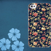 iphone 4/4s case iphone 5 hard case black style flower iphone cases for hard case (38)