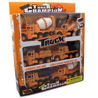 Friction Powered Construction Trucks (Case of 2)