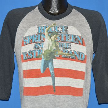 8f0f0ea6 80s Bruce Springsteen Born in the USA Tour Jersey t-shirt Medium
