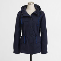 Factory hooded nylon jacket : Outerwear | J.Crew Factory
