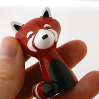 Handmade Gifts | Independent Design | Vintage Goods Mini Red Panda Figurine - Home Decor - For The Home