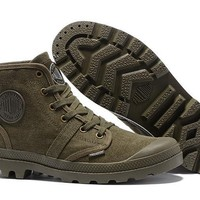 Palladium Pampa Hi Originale Tx High Boots Army Green - Beauty Ticks