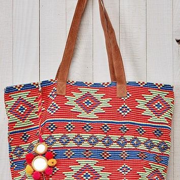 Boho Aztec Inspired Tapestry Bag