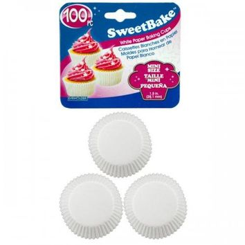 Mini Paper Baking Cups 100pk