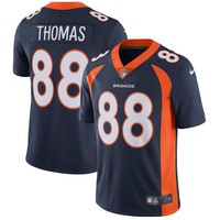 Men's Denver Broncos Demaryius Thomas Nike Navy Vapor Untouchable Limited Player Jersey