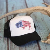 Buffalo 'Merica Trucker Hat
