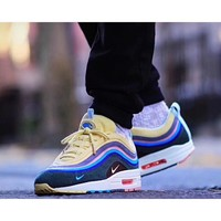 Nike Air Max 97 / 1 Sean Wotherspoon AJ4219-400  VF SW Hybrid Sport Running Shoes - Best Online Sale