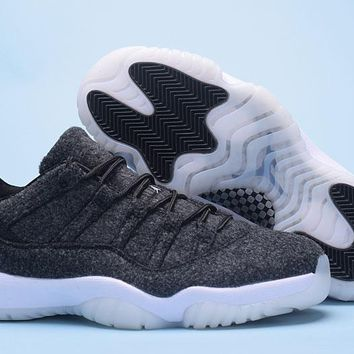 Air Jordan 11 Retro AJ11 Low Wool Sneaker Shoes US7-13-1 213c408c6