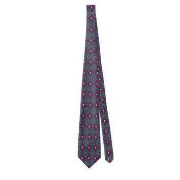 Geometric pattern neck tie