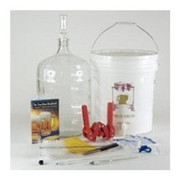 Gold Complete Beer Equipment Kit (K7) with 5 Gallon Glass Carboy