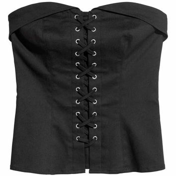 H&M Corset-style Top $9.99