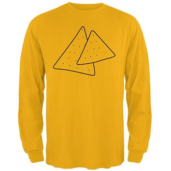 Halloween Tortilla Chips Food Costume Mens Long Sleeve T Shirt