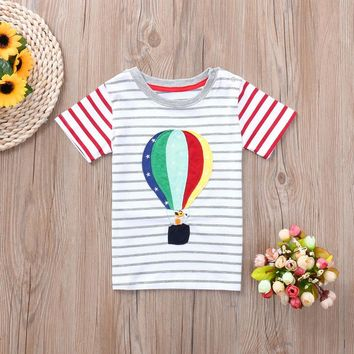 Hot Air Balloon Toddler and Baby T-Shirts