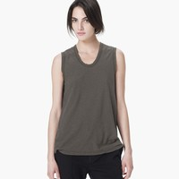 SPACED JERSEY TANK