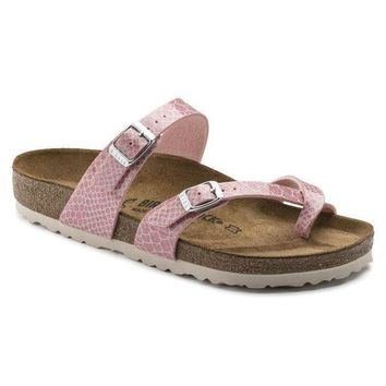 DCCK1 Birkenstock Mayari Birko Flor Magic Snake Rose 1009111/1009112 Sandals