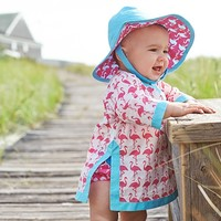 Nantucket Flamingo Nursery Tunic