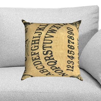 Ouija Board Custom Pillow Case for One Side and Two Side
