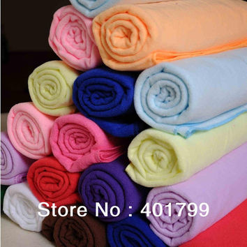Super Absorbent thick microfiber bath towel for adult 70x140 cm 280 g per pc