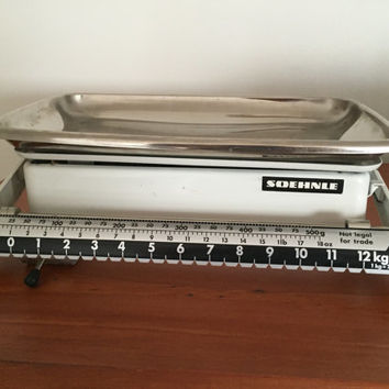Vintage SOEHNLE 12Kg / 26Lb Sliding Scale Kitchen Scales Made In West Germany 60s/70s / Excellent Condition