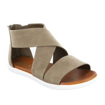 Deana Strappy Sandal in Taupe