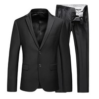 Cloudstyle Classical Men's Formal Slim Fit Business Suit