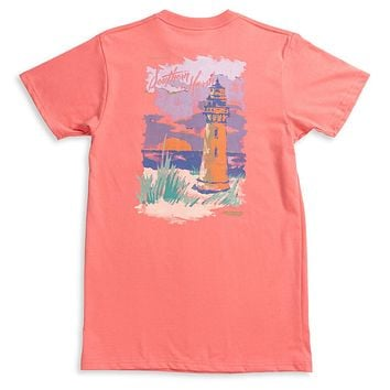 Southern Horizons - Lighthouse Tee by Southern Marsh