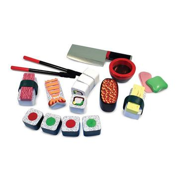 Melissa & Doug Toys Sushi Slicing Play Set at Brookstoneâ??Buy Now!