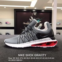 Nike Shox Gravity High Quality Fashion Woman Men Casual Running Sport Shoes Sneakers Size: 36-45