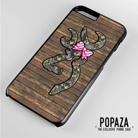 Browning Deer Camo iPhone 6 Plus Case Cover