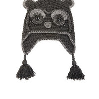 White/Black BCBG Panda Heidi Hat