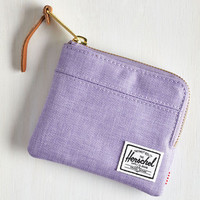 Travel Pack on Track Wallet in Lilac by Herschel Supply Co. from ModCloth