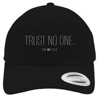 Trust No One The X Files Cotton Twill Hat