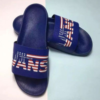 VANS   Do you like American flag slippers