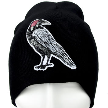 Dead Raven Zombie Beanie Alternative Clothing Knit Cap