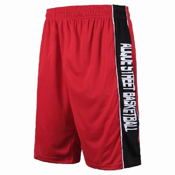 New Basketball Shorts Big Plus Size Cover Knees Loose Breathable With Pockets Men Summer Beach Running Sport Shorts