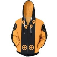 Naruto Cosplay Street Wear Long Sleeve Hoodie