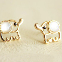 Fashion Elephant Earrings